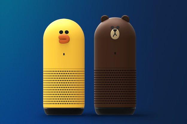 Der japanische Amazon-Echo-Konkurrent sieht aus wie ein Bär oder ein Huhn