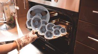 Magnetbänder im Ofen gebacken um Quelltext zu retten