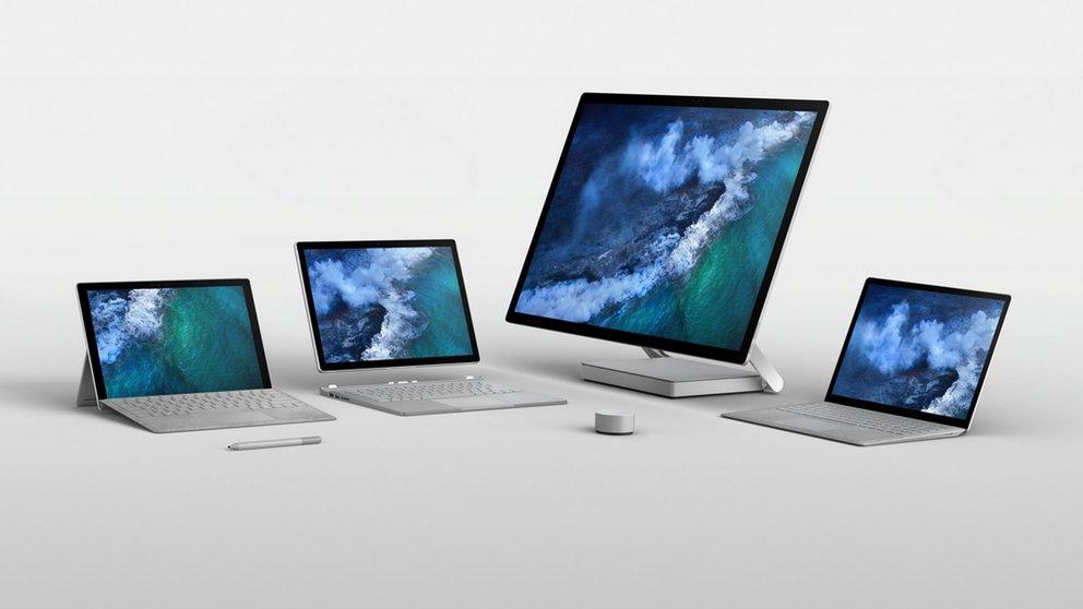 Surface Pro (2017), Laptop und Studio feiern Marktstart in Deutschland
