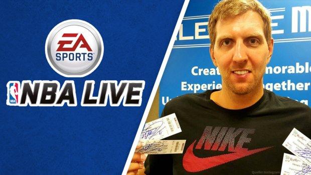 NBA Live: Dirk Nowitzki trollt EA Sports