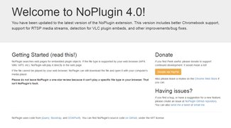 NoPlugin für Chrome