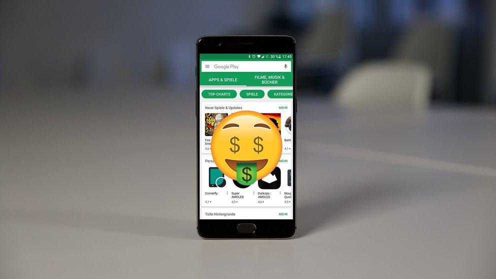 Ich würde ja gerne für Apps zahlen darf aber nicht