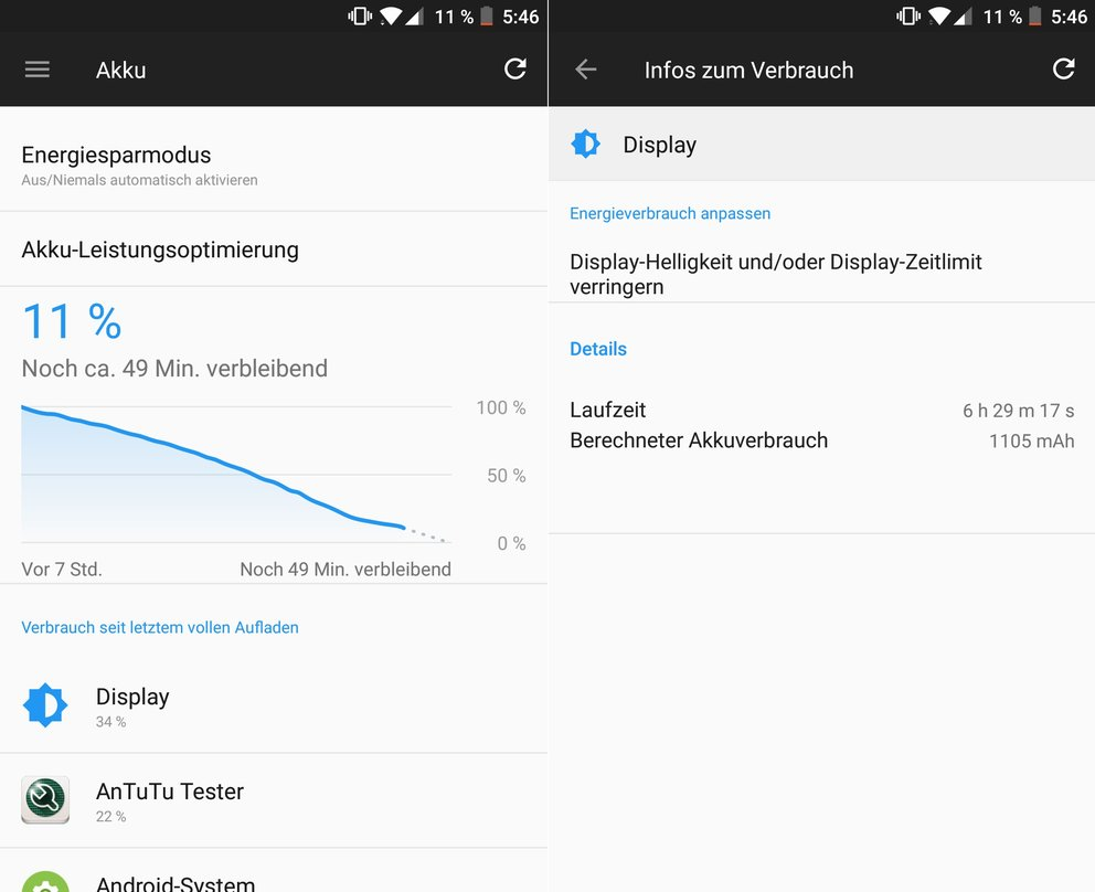 OnePlus-5-Test-Akkulaufzeit