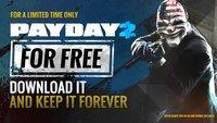 PayDay2: Sichere dir den Heist-Shooter jetzt kostenlos auf Steam
