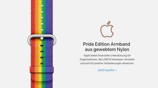 Pride-Edition-Armband: Apple spendet Teile der Einnahmen für gute Zwecke