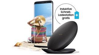 Samsung-Aktion: Galaxy S8 (Plus) kaufen und induktive Schnellladestation kostenlos bekommen