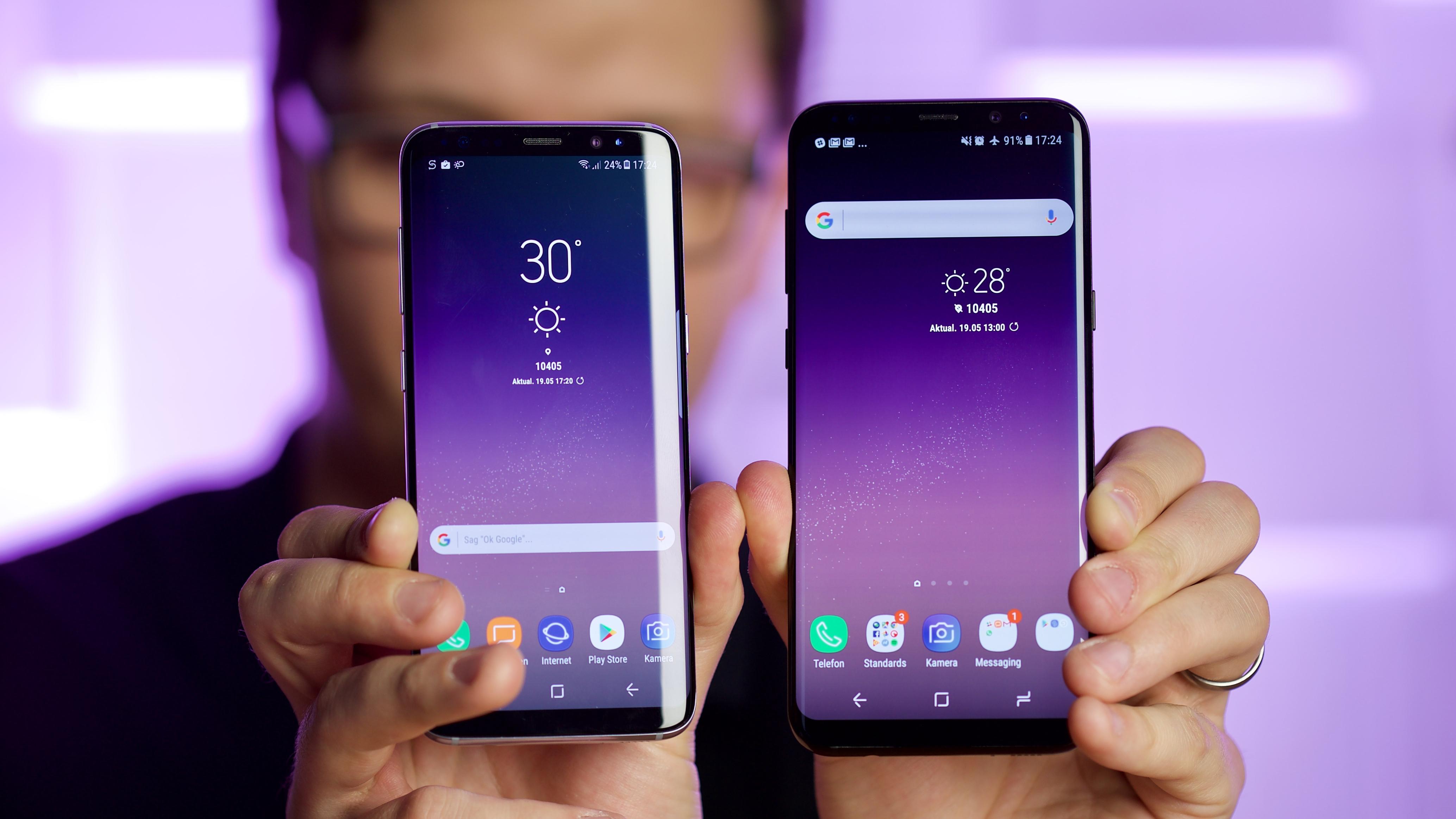 kann keine sms lesen samsung galaxy s8+