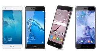 Smartphone-Deals zum Wochenende: Honor 5C & 6C, Huawei Nova, HTC U Play zu Bestpreisen