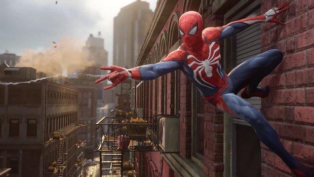 Spider-Man: Erste Gameplay-Szenen zum PS4-exklusiven Titel