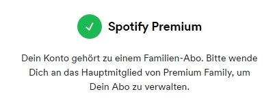 Spotify Family einladen Premium-Account