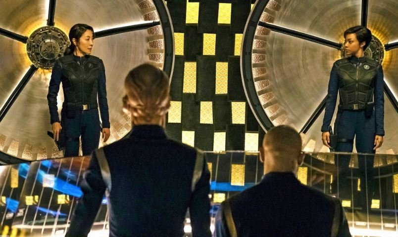 Star Trek Discovery Transporter Room