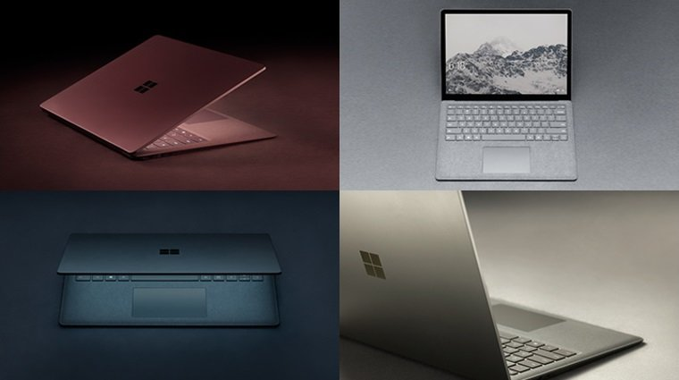 Surface-Laptop-Farben