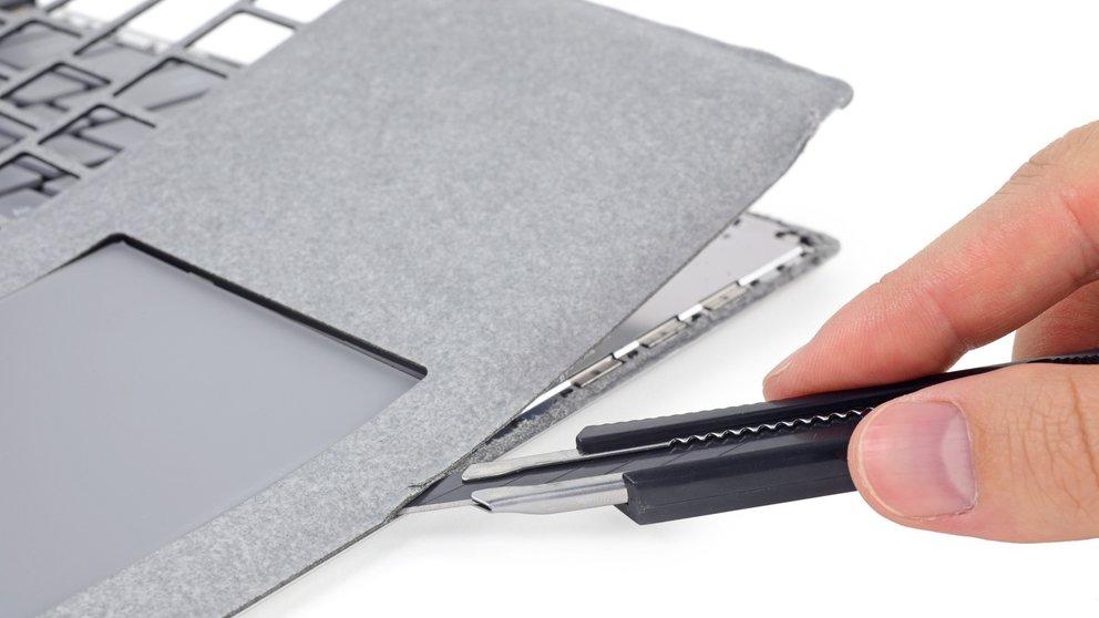 Teurer Wegwerfartikel: Surface Laptop versagt im iFixit-Teardown