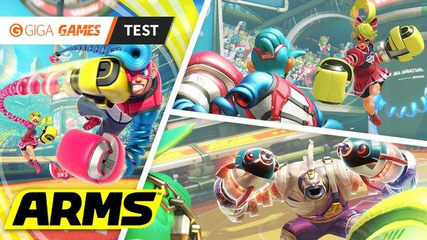 ARMS im Test: So schlägt sich Nintendos Fun-Boxer