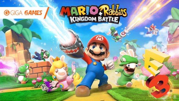 Mario + Rabbids: Kingdom Battle: So spielt sich das taktische Mario-Spiel