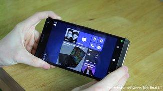CShell im Video: Universelle Windows-10-Oberfläche für Smartphones, PCs und Co. demonstriert