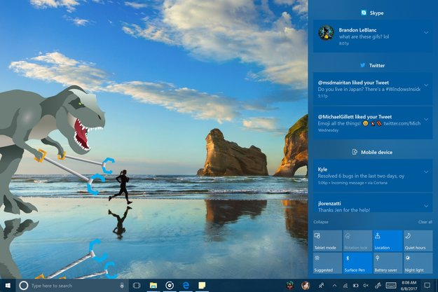 Windows 10: Neue Preview bringt optimiertes Design, bessere Stifteingabe und mehr