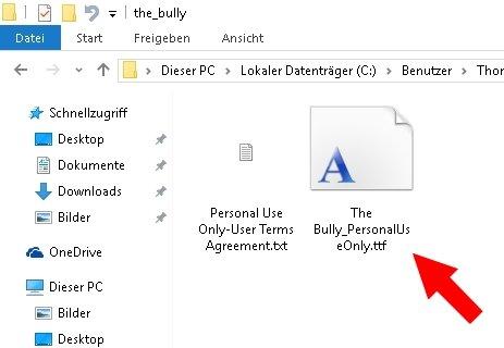 Windows Schriftarten installieren deinstallieren 02