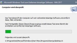Windows-Tool zum Entfernen bösartiger Software