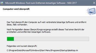 Windows-Tool zum Entfernen bösartiger Software (MSRT)