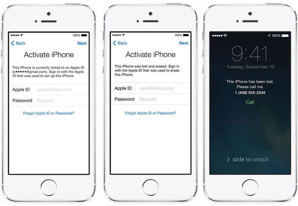 """iCloud-Bypass gegen Geld (Quelle: """"Official iPhone Unlock"""")"""