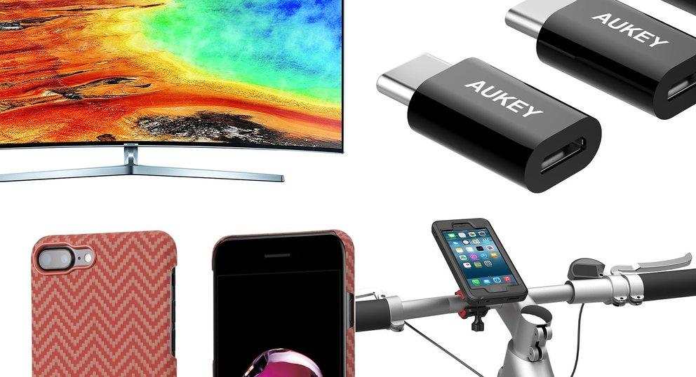 Blitzangebote: USB-C-Adapter, iPhone-7-Case, UHD-TV und mehr heute günstiger