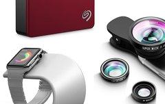 Blitzangebote: Smartphone-Linsen, Apple-Watch-Ständer, Seagate-Festplatten u.v.m. günstiger
