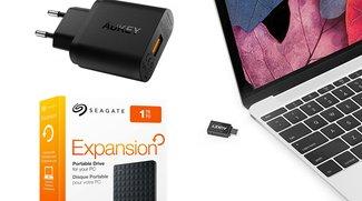 Angebote am Samstag: Amazon Echo, Samsung Gear Fit 2, Seagate-Festplatten u.v.m. günstiger