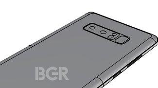 Galaxy Note 8: Neue Leaks bestätigen Fingerabdruckscanner auf der Rückseite
