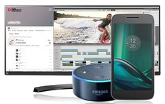 Blitzangebote: 34 Zoll Thunderbolt-Display, Moto G4 Play Smartphone, Amazon Echo Dot günstiger