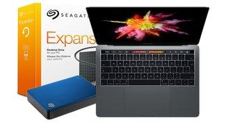 Blitzdeals & CyberSale: MacBook Pro mit Touch Bar für nur 1.649 Euro, Seagate-Festplatten, Gaming-Monitor