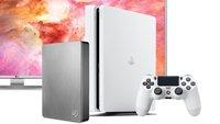 Blitzdeals & CyberSale: Heute Rabatte auf Playstation 4, Seagate-Festplatten, 4K-Fernseher und mehr