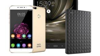 Blitzangebote:Asus ZenPad 3S,Oukitel U20 Plus Smartphone mit Full-HD-Display, Seagate-Festplatten