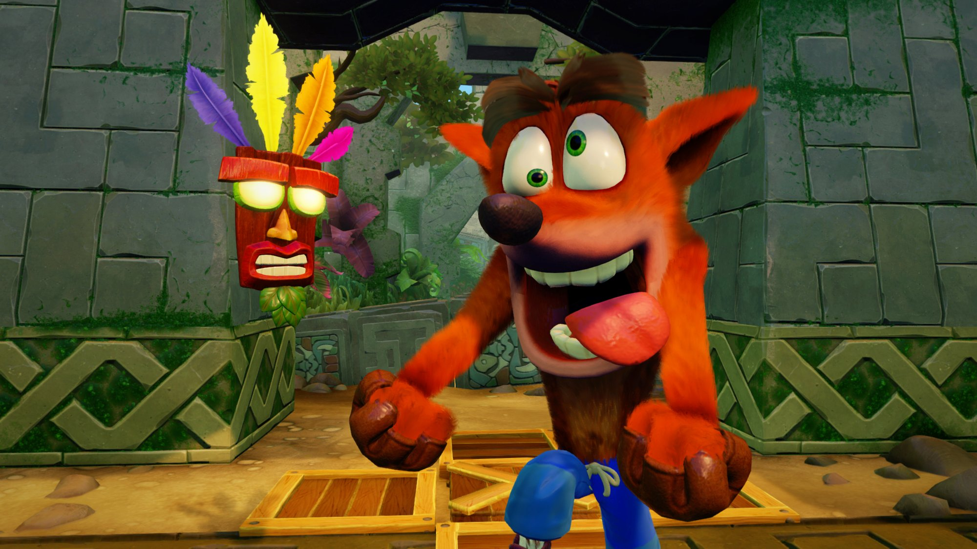 Technik-Video zur Crash Bandicoot N. Sane Trilogy