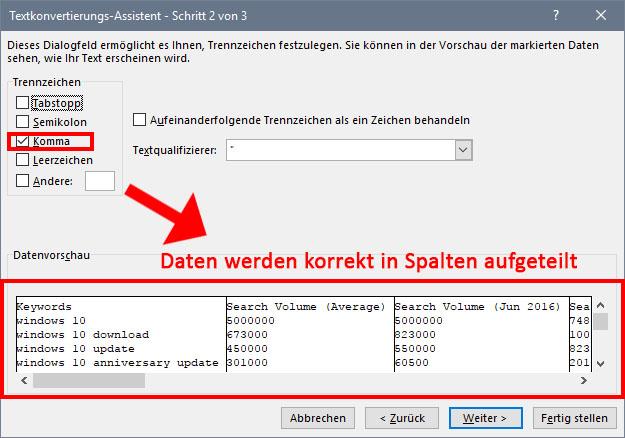 CSV-Dateien richtig in Excel & Co. öffnen – so gehts – GIGA