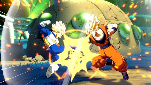 Dragon Ball FighterZ: Gameplay-Video zeigt mehrere verheerende Kämpfe