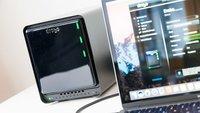 Drobo 5D3 mit Thunderbolt 3: Festplatten im laufenden Betrieb austauschen
