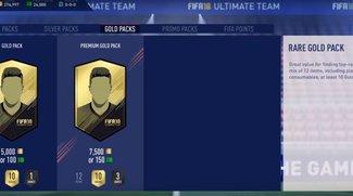 FIFA 18: Alle Pack-Preise für FIFA Points und FUT-Packs