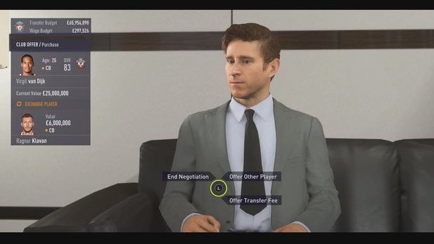 FIFA 18 Verhandlungen