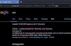 Firefox: Dark Theme aktivieren...