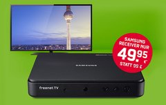 freenet TV 4 Monate gratis + Samsung Receiver 50 % günstiger