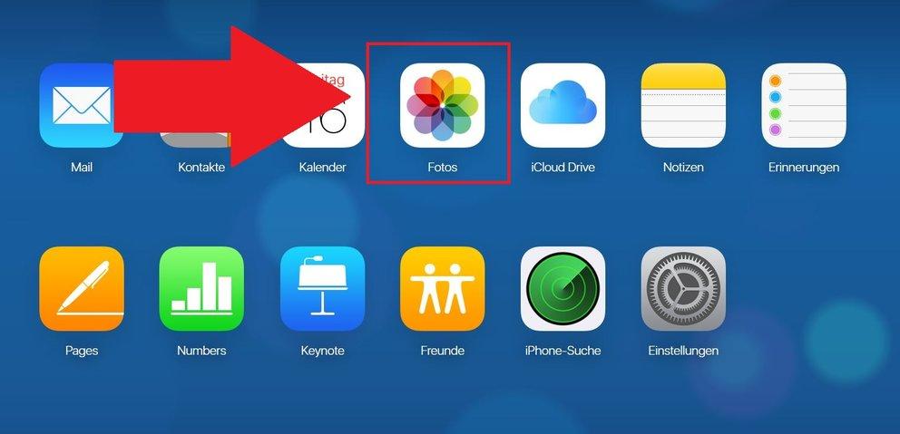 iCloud löschen online