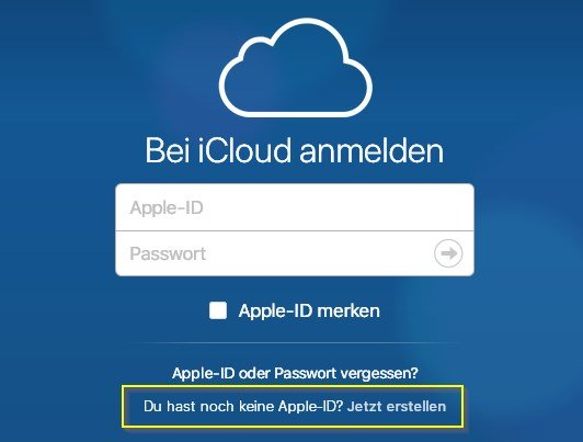 icloud-erstellen-apple-id