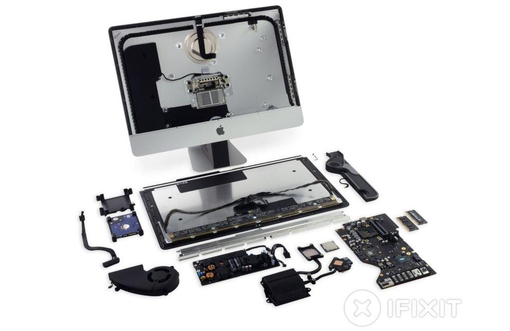iMac 2017 im Teardown: Modulare Überraschungen, schlechtes Gesamtergebnis