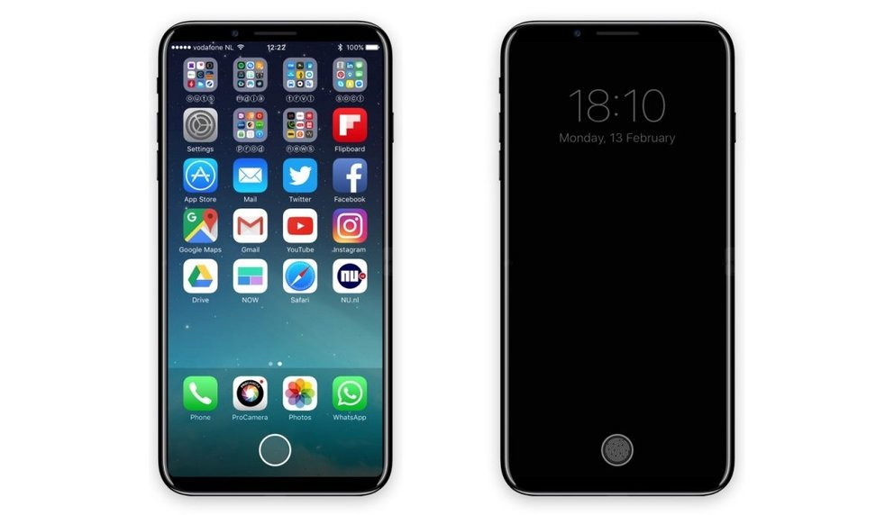 "iPhone 8: Web-Statistiken bestätigen ""Dock""-Fläche am unteren Display-Rand"