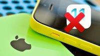 iOS 11 Kompatibilität: Bye, bye, iPhone 5!