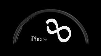 Konzept eines iPhone 8 mit flexiblem Display: Schwungvoll in die Zukunft