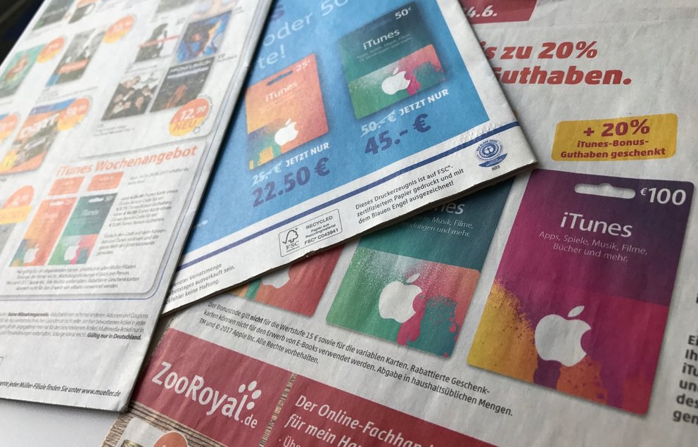 itunes karte rabatt online iTunes Karten: Bonusguthaben oder Rabatt – was ist besser?