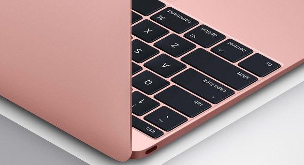 Neues MacBook mit zweiter Generation der Butterfly-Tastatur