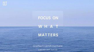 OnePlus 5: Livestream zur Präsentation hier mitverfolgen
